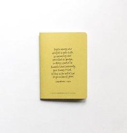 Val Marie Paper Prayer Journal, Citron