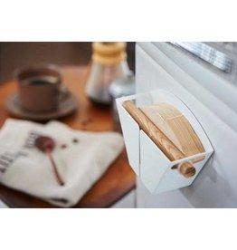 Yamazaki White Tosca Magnetic Coffee Filter Holder