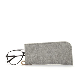 Graf Lantz Eyeglass Sleeve, Granite