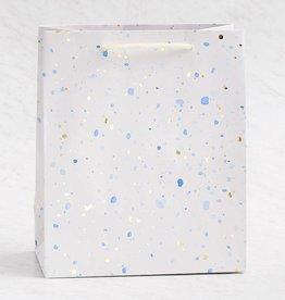 Waste Not Paper Foil Speckle Bag, Md