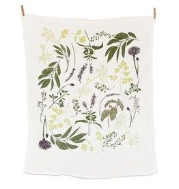 June & December Herb Garden Towel