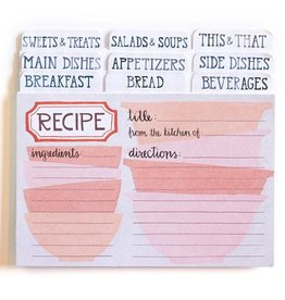 1Canoe2 Pink Bowls Recipe Cards