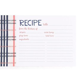 1Canoe2 Fireside Plaid Recipe Cards
