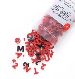 The Type Set Co. Magnetic Letters - Desert Poppy