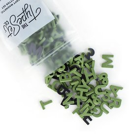 The Type Set Co. Magnetic Letters - Olive Juice