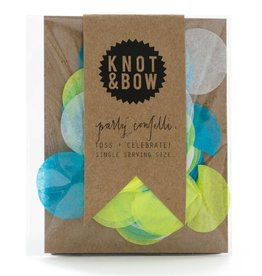 Knot and Bow Single Serve Confetti - Blue