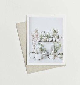 Knot and Bow Potted Plants Card