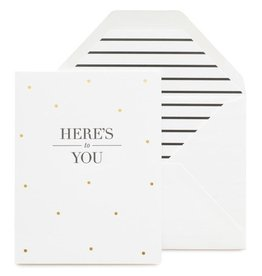 Sugar Paper Here's To You Card
