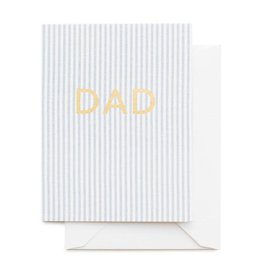 Sugar Paper Dad Ticking Stripe Card