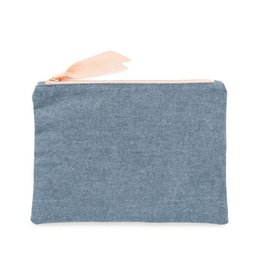Sugar Paper Chambray Pouch