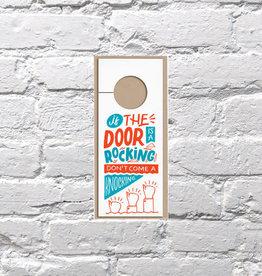 Bench Pressed Rocking Door Hanger
