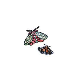 Antiquaria Moths Patch, Set/2