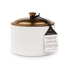 Paddywax Tobacco Vanilla Hygge, 5 oz
