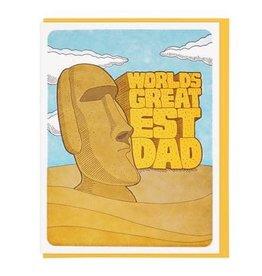 Lucky Horse Press World's Greatest Dad Moai