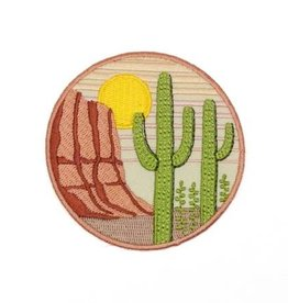 Lucky Horse Press Saguaro Embroidered Patch