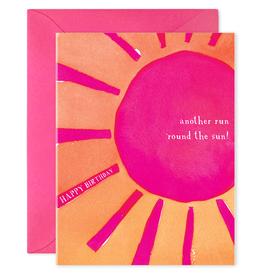 E. Frances Round the Sun