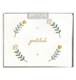 Ink Meets Paper Floral Gratitude, Boxed