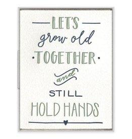 Ink Meets Paper Still Hold Hands