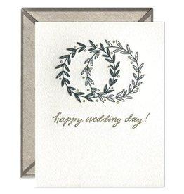 Ink Meets Paper Happy Wedding Day