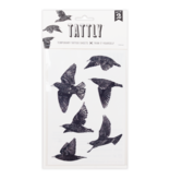 Tattly Tattoo, European Starlings