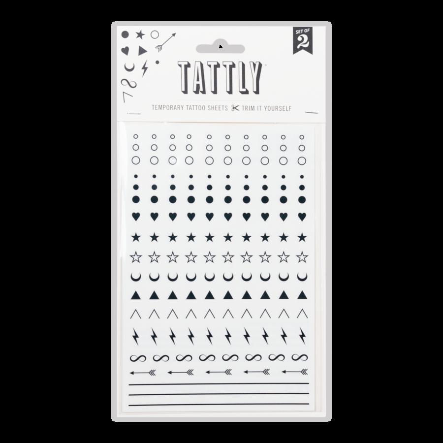 Tattly Tattoo, Facial Expressions