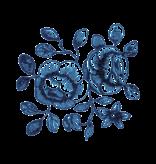 Tattly Tattoo, Cartolina Blooms