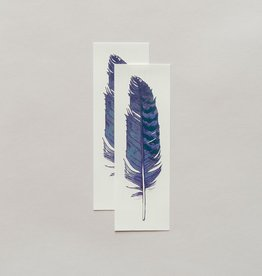 Tattly Tattoo, Blue Jay Feather