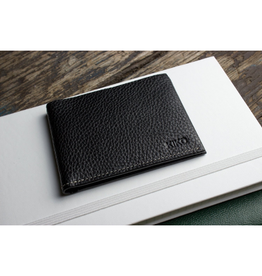 Kiko Classic Leather Wallet, Black