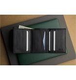 Kiko Trifold Wallet, Black