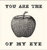SugarBoo Designs You Are the Apple of My Eye Notecard