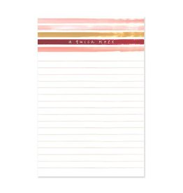 1Canoe2 Sunset Stripe Notepad