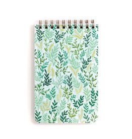 1Canoe2 Large Mint Meadow Spiral Notebook