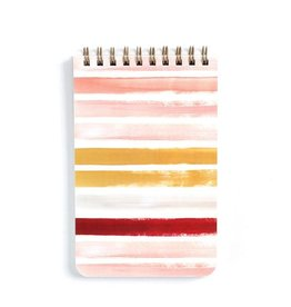 1Canoe2 Small Sunset Stripe Spiral Notebook