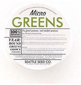 Seattle Seed Co. Organic Microgreens Starter Kit