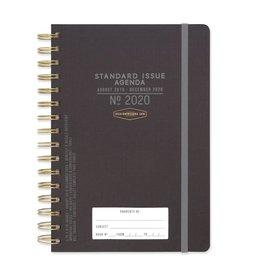 Design Works 2019-20 Black Standard Issue Planner