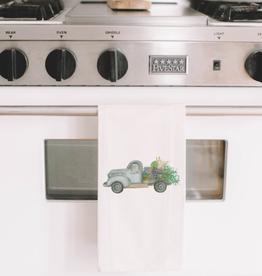 PCB Home Floral Truck Tea Towel