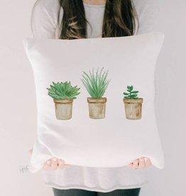 PCB Home Succulent Pots Pillow, 16x16