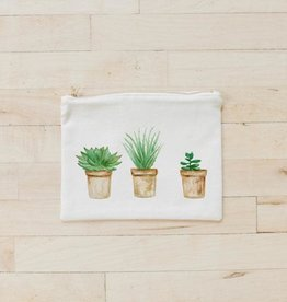PCB Home Succulent Pots Cosmetic Bag