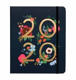 Rifle Paper 2020 Wild Rose Covered Spiral Planner