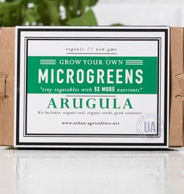 Urban Agriculture Grow Your Own MicroGreens, Arugula