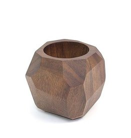 Soul of the Party Geometric Wooden Planter