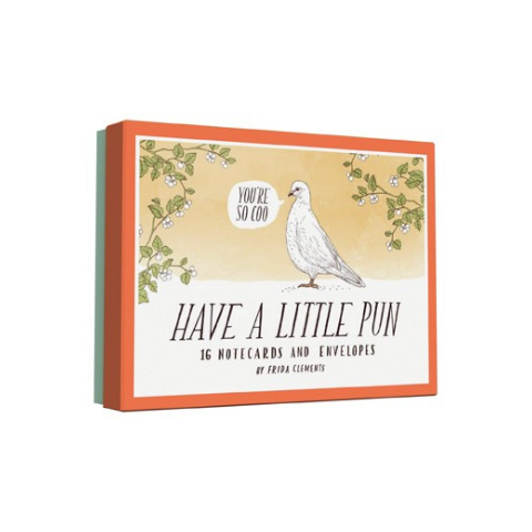 Hachette Book Group Have a Little Pun Notecards