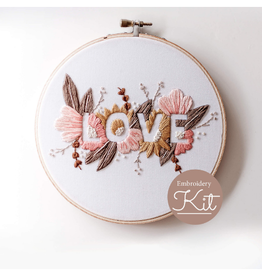 Brynn & Co. Love Embroidery Kit