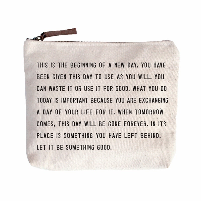 SugarBoo Designs Canvas Bag: This is the Beginning