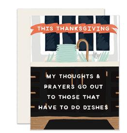 Slightly Stationery Thoughts & Prayers
