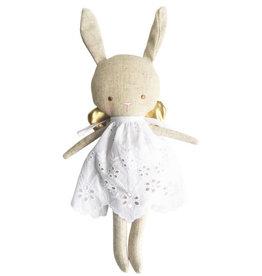 Alimrose Baby Angel Bunny, Linen Gold