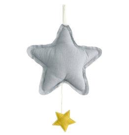Alimrose Star Musical, Grey Linen
