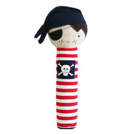 Alimrose Pirate Squeaker, Navy Linen