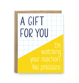 Public School Paper Co. A Gift For You Card