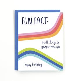 Public School Paper Co. Fun Fact Birthday Card